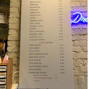 Cafe Georgetown Menu